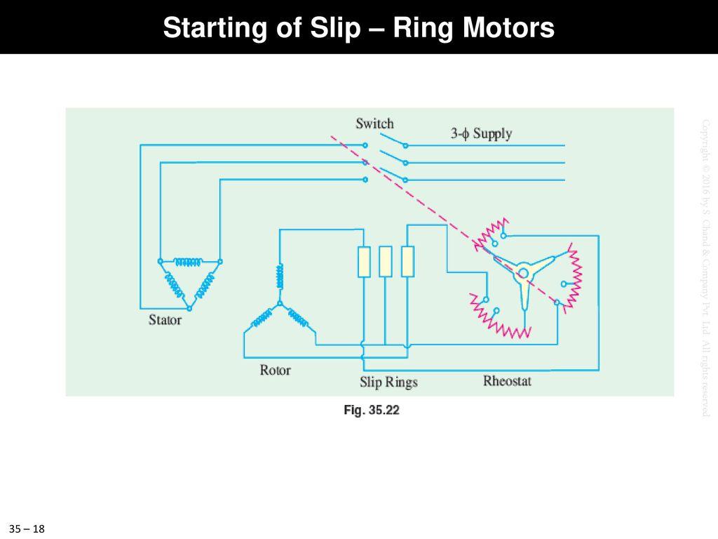 hight resolution of 18 starting of slip ring motors