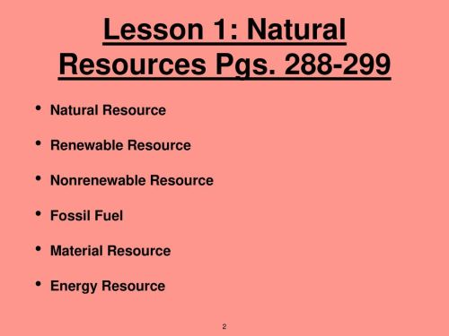 small resolution of 6th Grade Unit 5: Energy Resources - ppt download