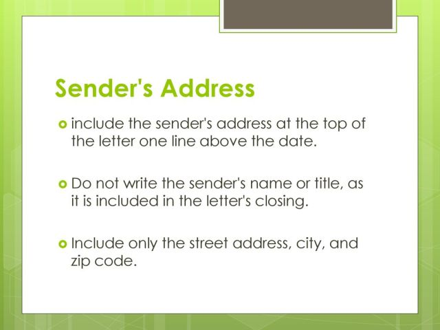 How to Write a Business Letter - ppt download
