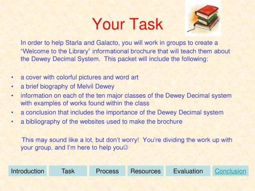 small resolution of The Dewey Decimal System - ppt download