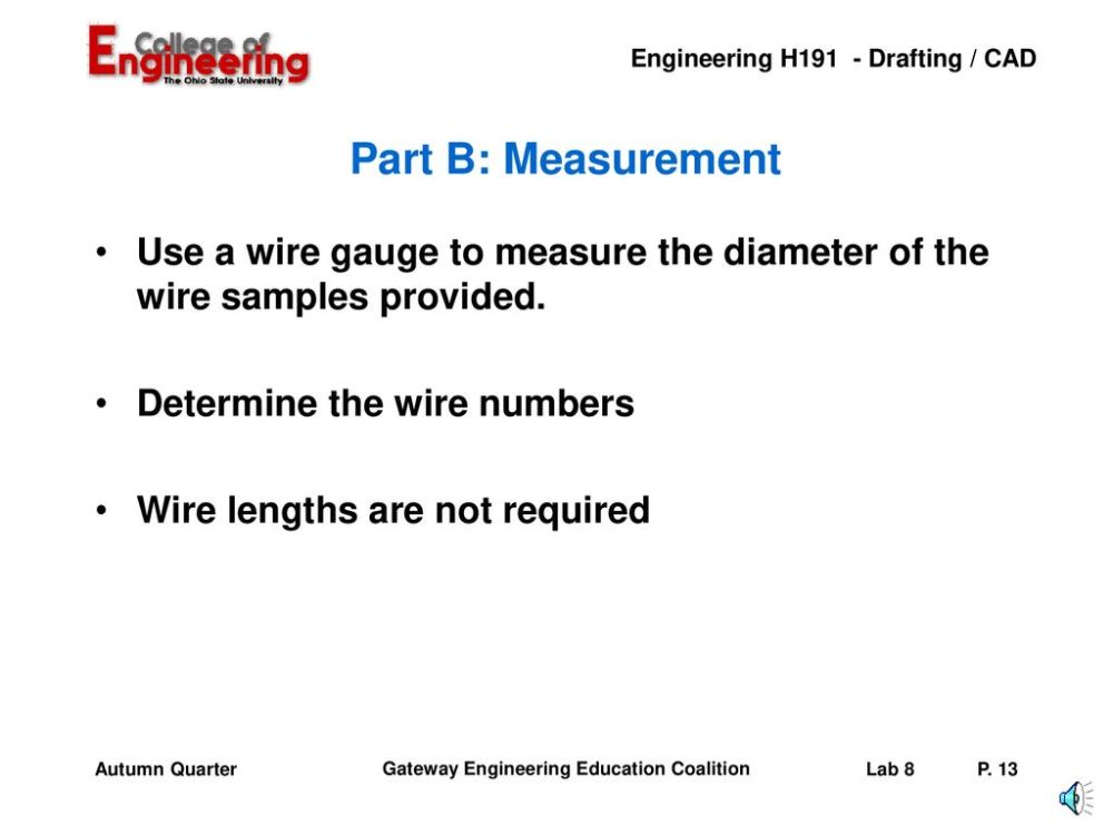 medium resolution of part b measurement use a wire gauge to measure the diameter of the wire samples