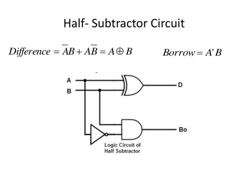small resolution of 4 half subtractor circuit