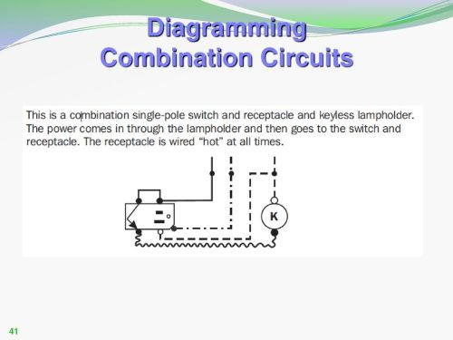 small resolution of single pole combination switch receptacle diagram