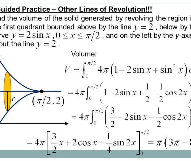 Guided Practice Other Lines Of Revolution