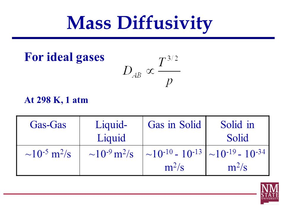 Diffusion Mass Transfer  ppt video online download