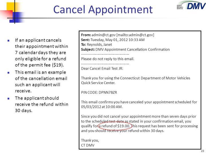 Dmv License Test Appointment Ct