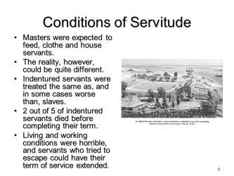 Indentured Servitude vs Slavery ppt video online download