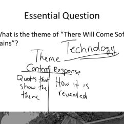 There Will Come Soft Rains Plot Diagram Facility Physical Security By Ray Bradbury Ppt Video Online Download 4 Essential Question What Is The Theme Of