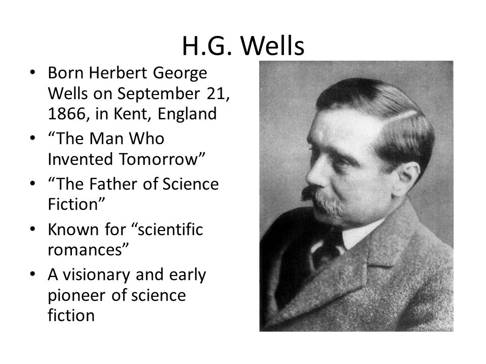 Image result for HG Wells pic