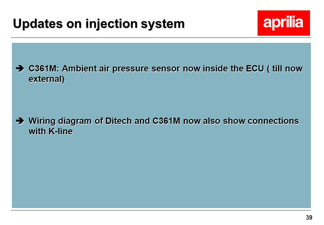 hight resolution of 39 updates on injection system