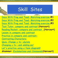 Frog And Toad Venn Diagram Mercruiser 4 3 Alternator Wiring 2 Days With Vocabulary Ppt Video Online Download Skill Sites Matching Exercise 1