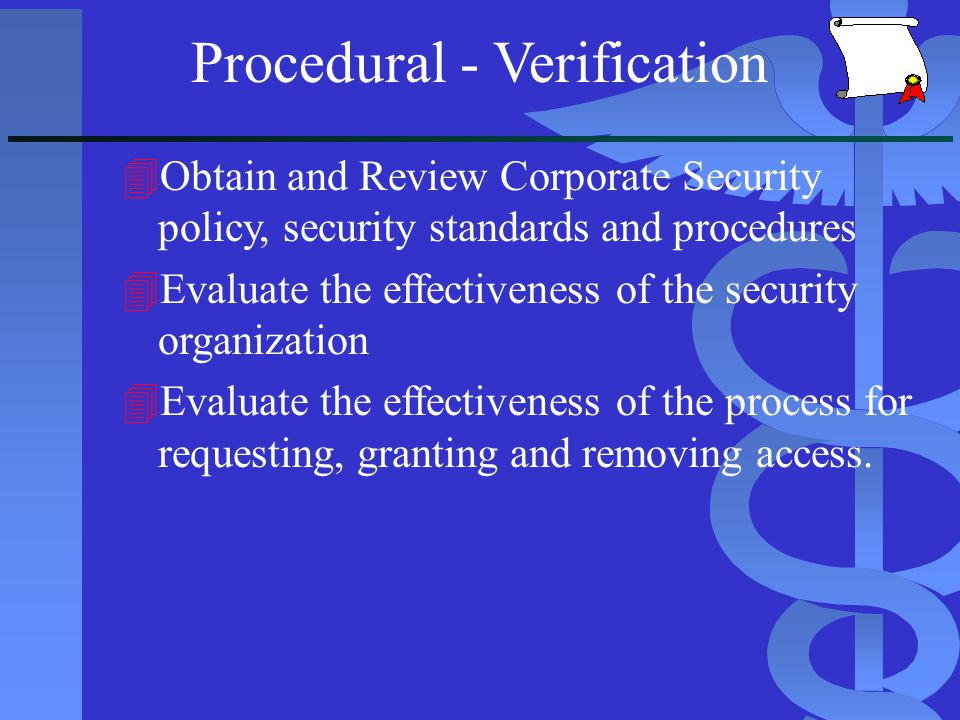 Database Access Control Policy