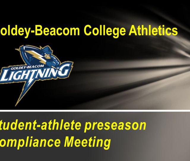 Goldey Beacom College Athletics