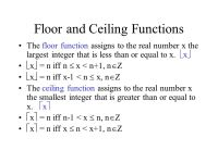 More Functions and Sets - ppt video online download