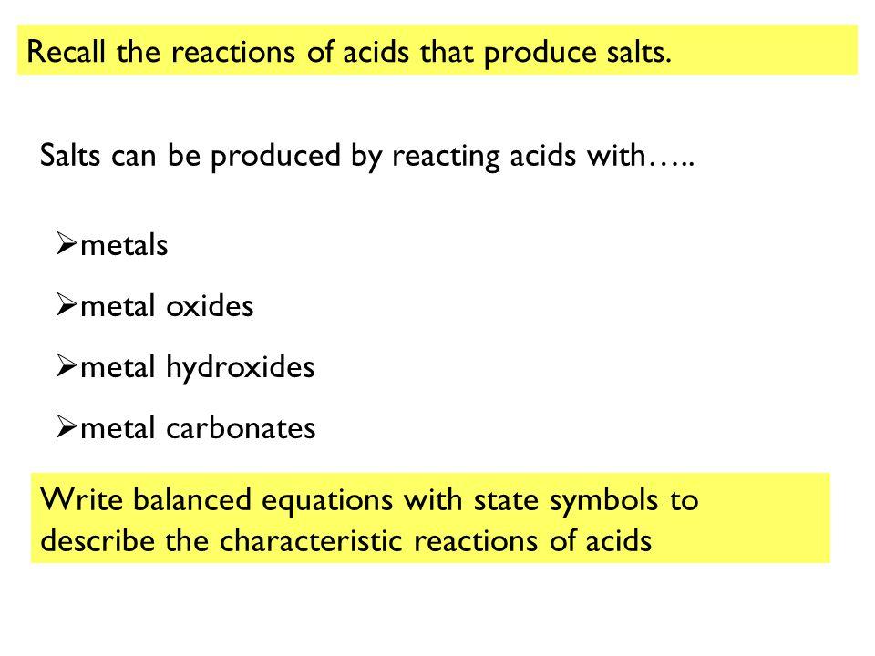 magnesium oxide hydrochloric acid word equation