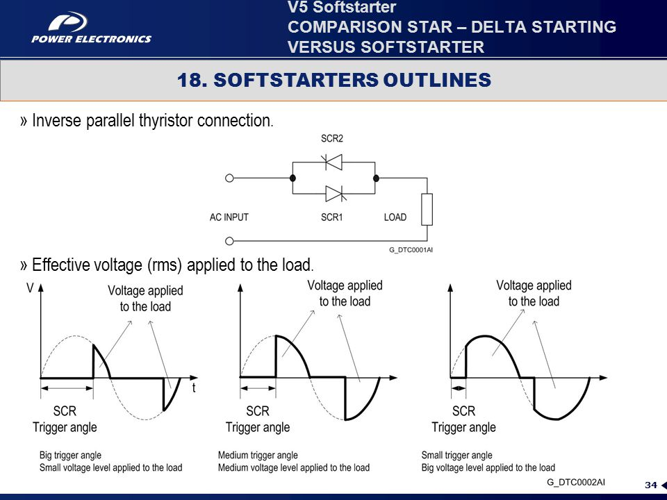 star delta wiring diagram control 2001 saturn sl ignition comparison starting versus softstarter ppt video v5