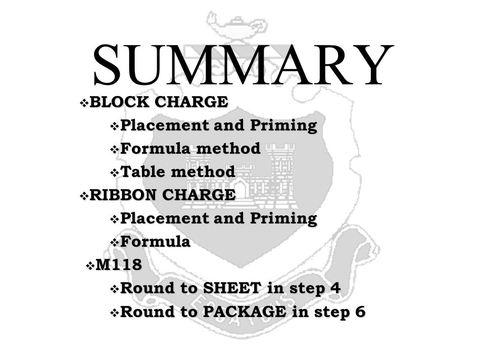 STEEL CUTTING CHARGES ACTION: Calculate and place steel