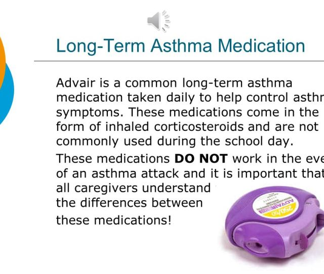 Long Term Asthma Medication