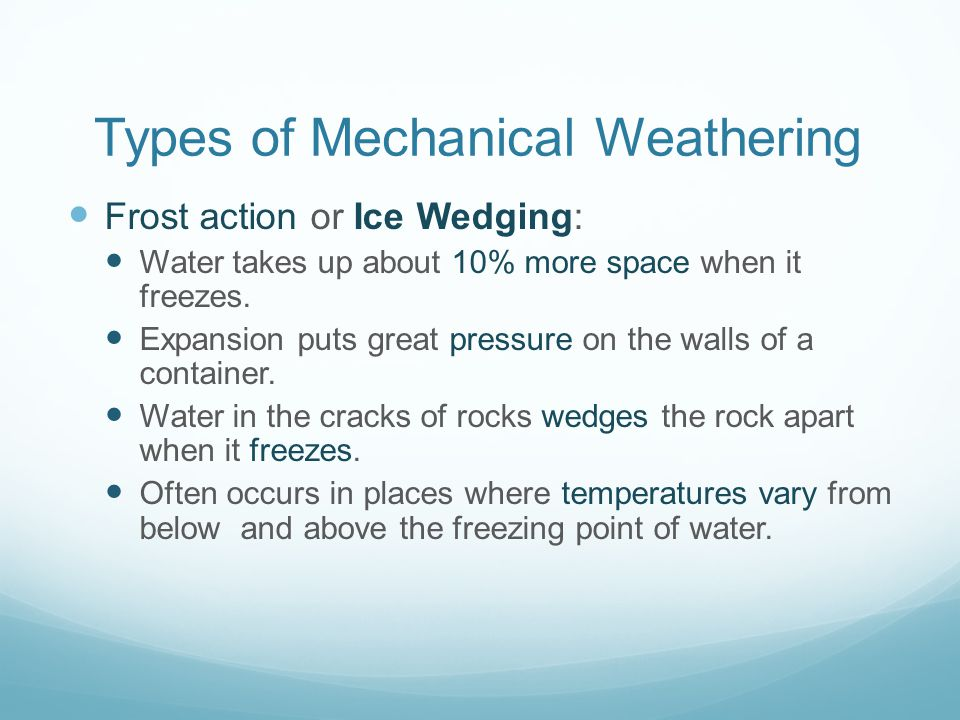 mechanical weathering diagram s14 wiring erosion deposition ppt video online download types of
