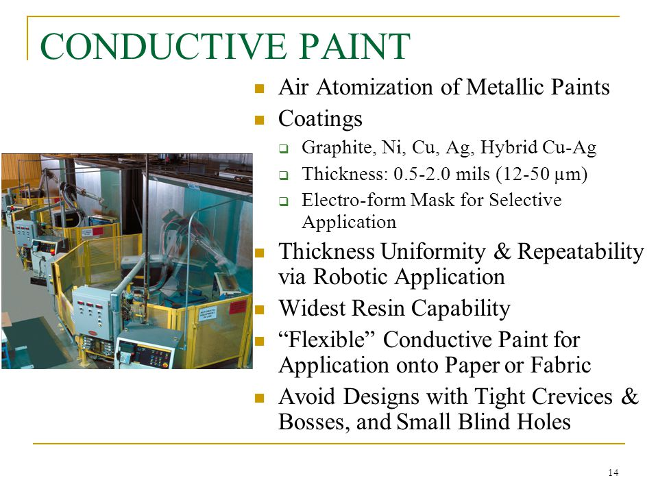 Is Metallic Paint Conductive