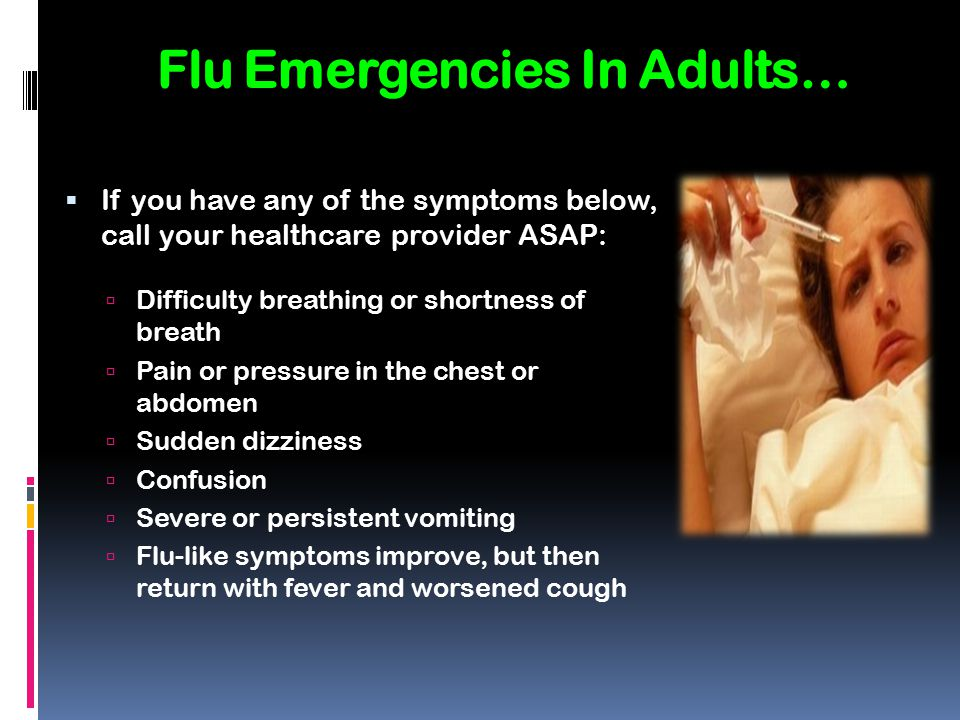 You and the Flu Flu Information - ppt download