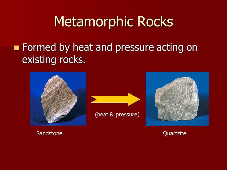 Foliated metamorphic rocks examples