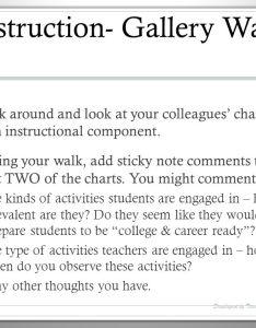instruction gallery walk also teacher observation training ppt download rh slideplayer