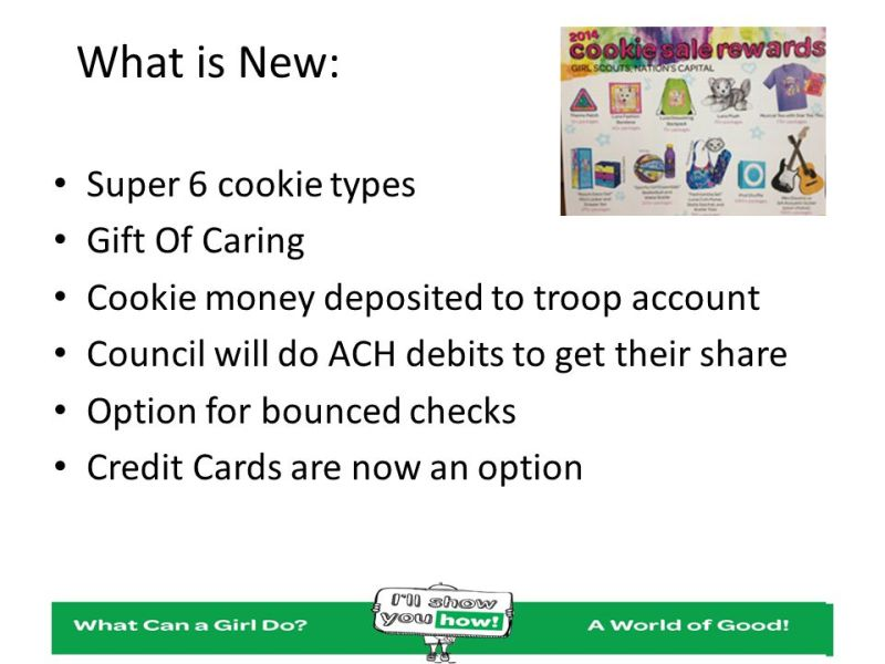 Girl Scout Cookies Gift Of Caring Receipt Creativepoem