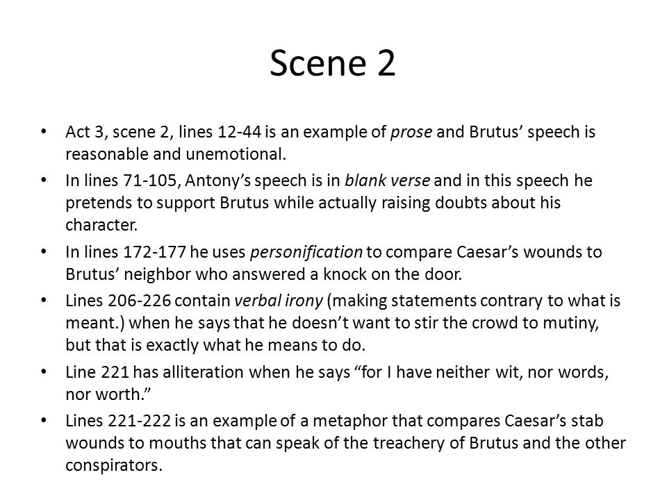 Julius Caesar Sticky Notes Act III Ppt Video Online