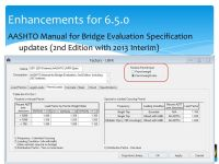 AASHTOWare Bridge Update - ppt download