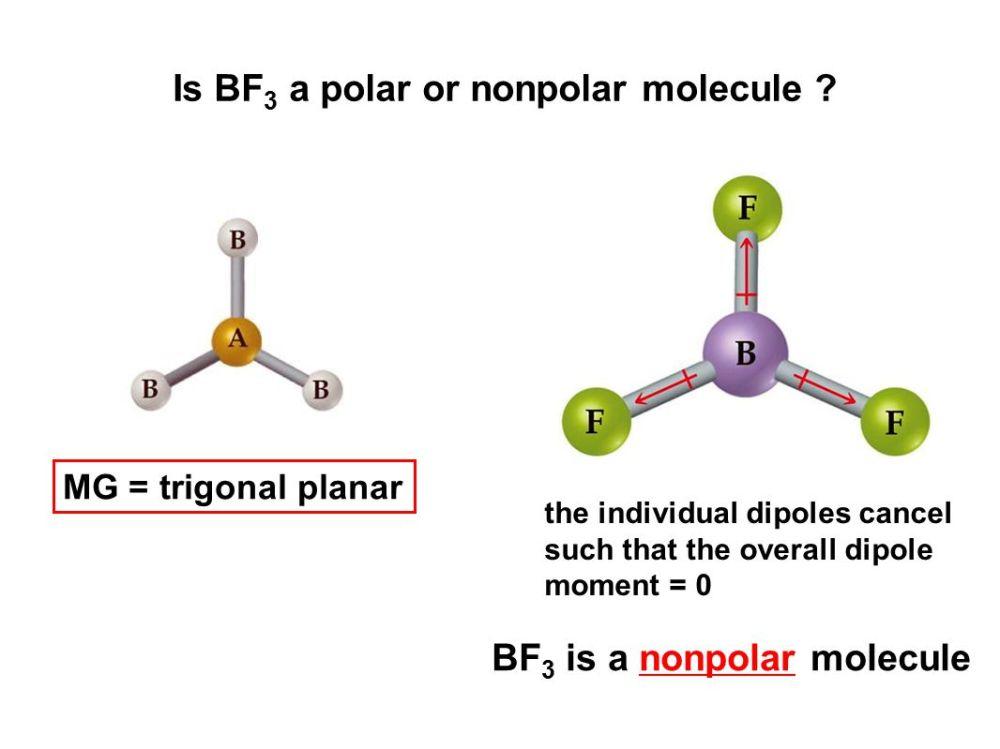 medium resolution of is bf3 a polar or nonpolar molecule