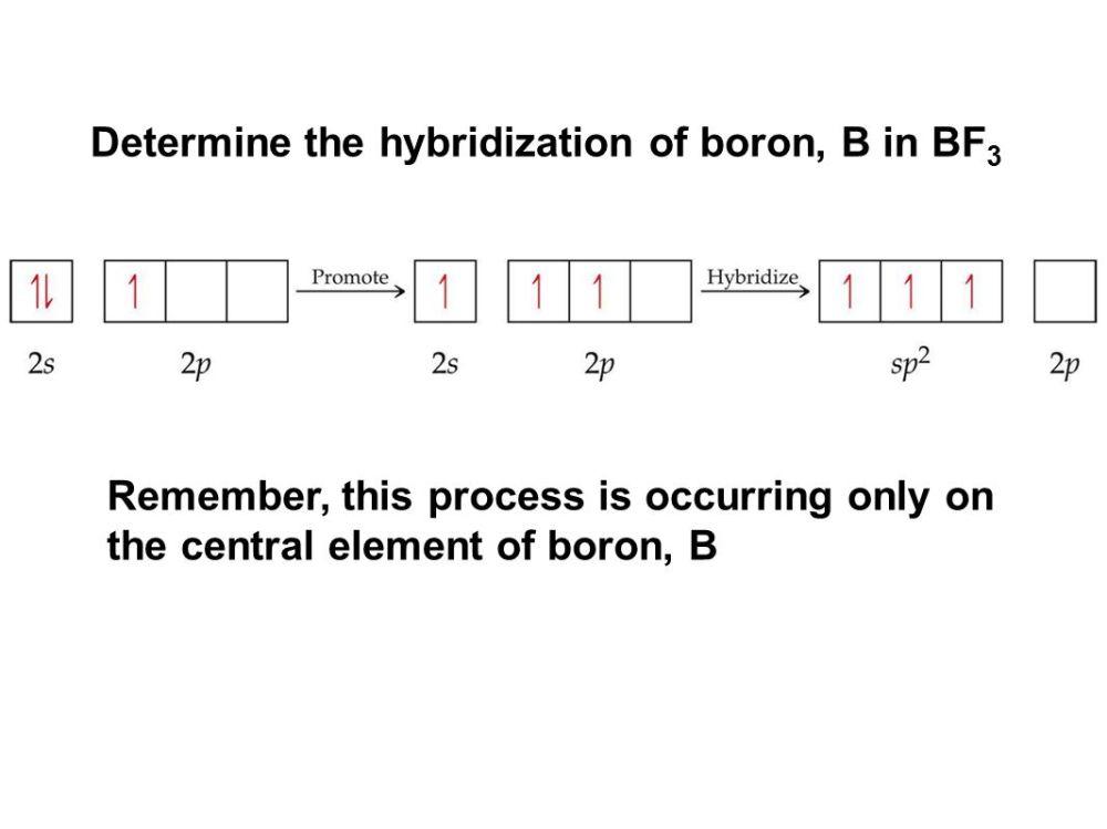 medium resolution of determine the hybridization of boron b in bf3