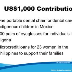 Portable Dental Chair Philippines Replacement Seats And Backs District 3790 Rotary Foundation Seminar Ppt Download Us 1 000 Contribution One For Care To Indigenous Children In Mexico