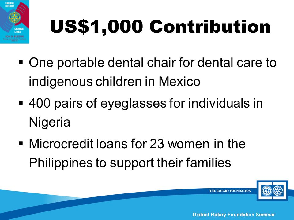 portable dental chair philippines beach wheel district 3790 rotary foundation seminar ppt download us 1 000 contribution one for care to indigenous children in mexico
