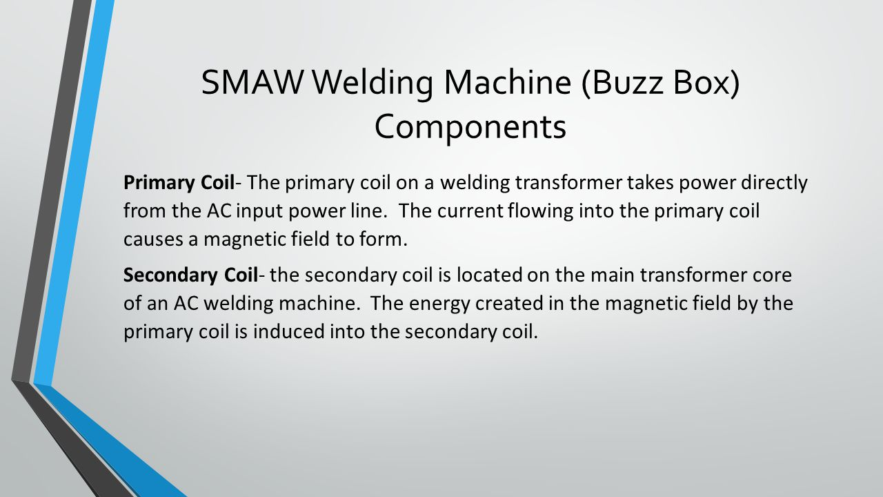 hight resolution of smaw welding machine buzz box components