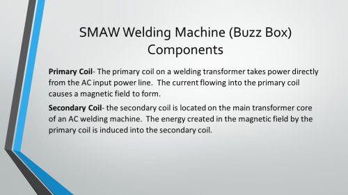 small resolution of smaw welding machine buzz box components