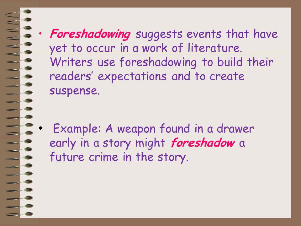 Foreshadowing And Flashback Ppt Download