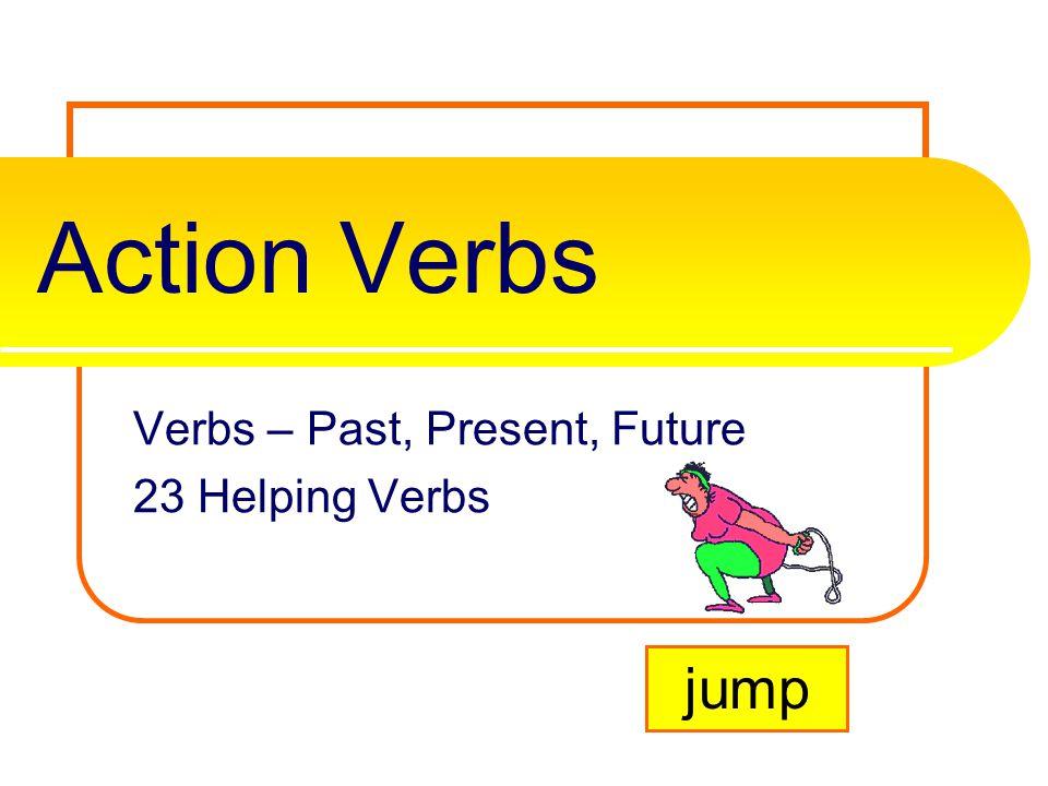 verbs past present future
