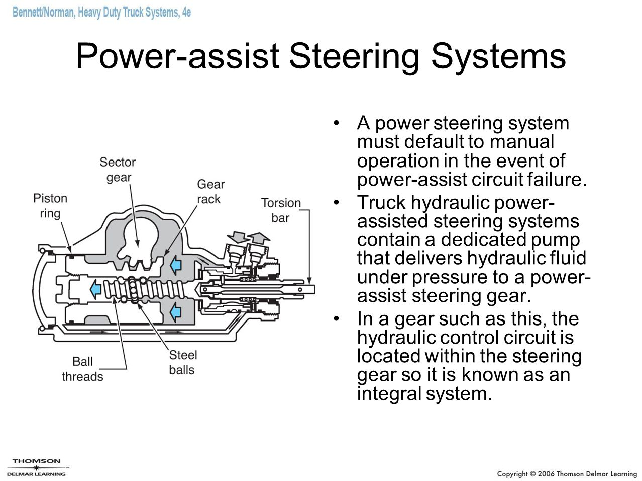 hight resolution of steering and alignment ppt download typical integral type of power steering system schematic diagram