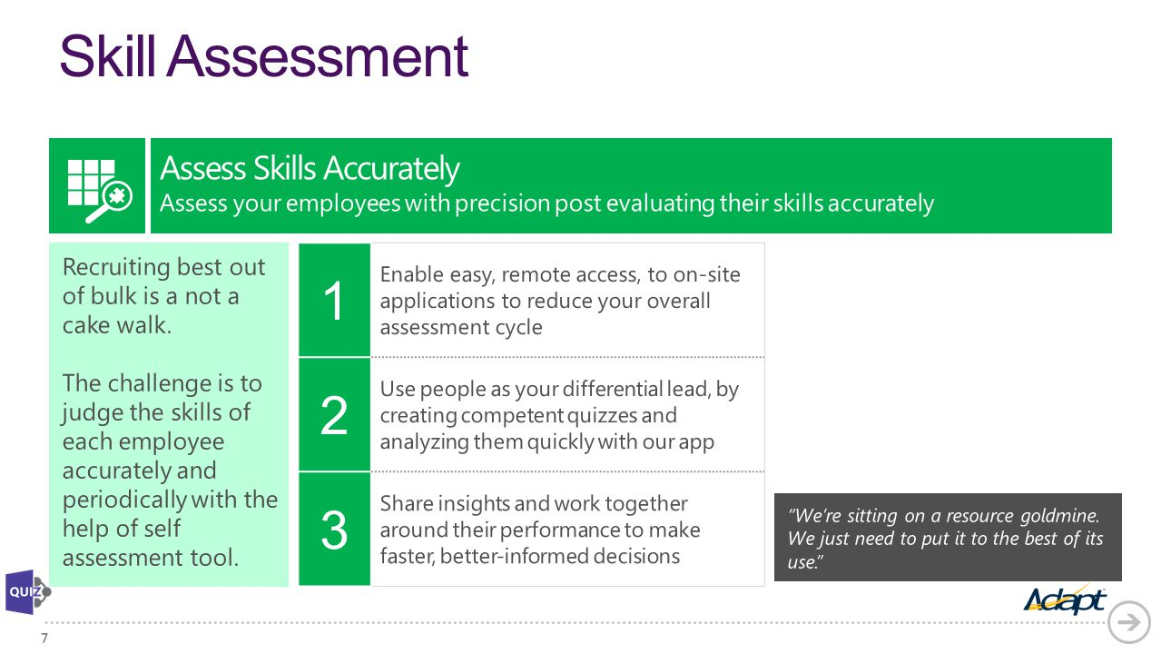 Skill Assessment Assess Skills Accurately