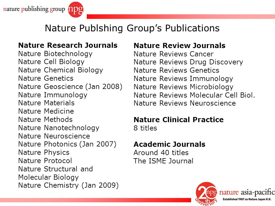 How to get your papers published in Nature journals  ppt video online download