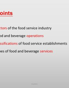 Key points sectors of the food service industry also introduction to and beverage management ppt video online download rh slideplayer
