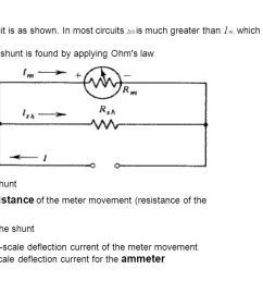 rm internal resistance of the meter movement resistance of the [ 1280 x 720 Pixel ]