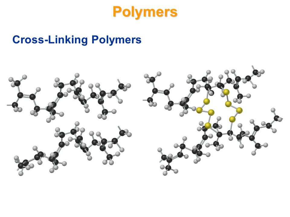 Polymers Polymers are giant molecules that are made up of