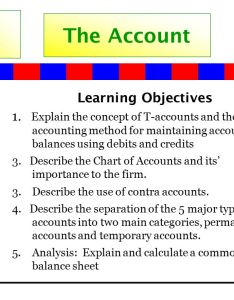 the account learning objectives also ppt download rh slideplayer