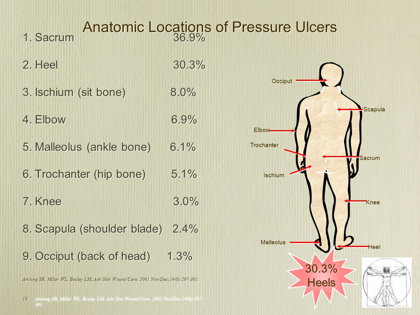 hight resolution of anatomic locations of pressure ulcers