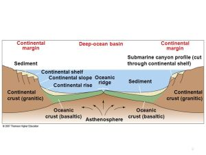 Chapter 4 Continental Margins and Ocean Basins  ppt video