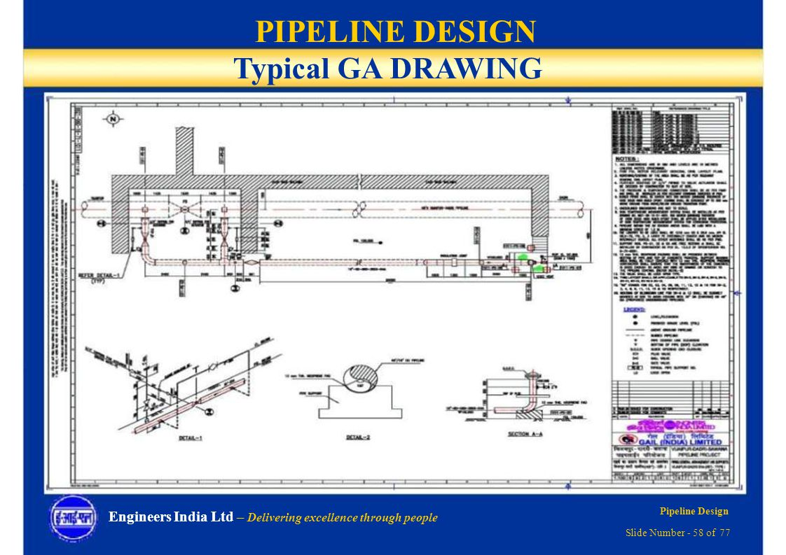 hight resolution of piping layout course in delhi
