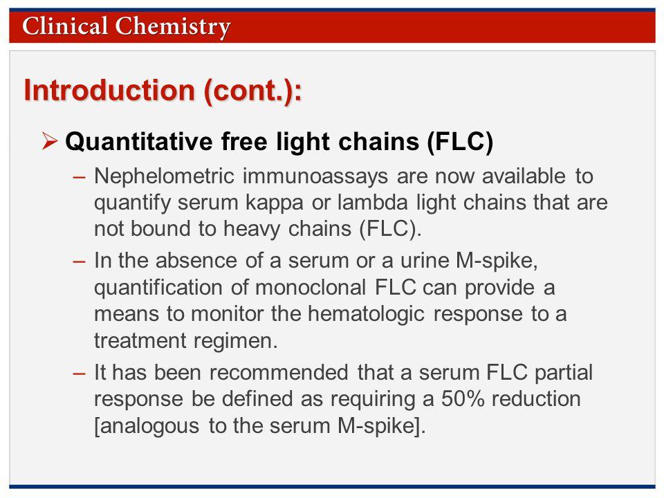 Quantitative Free Light Chains Flc