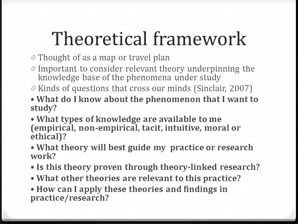 Theoretical And Conceptual Framework Ppt Video Online